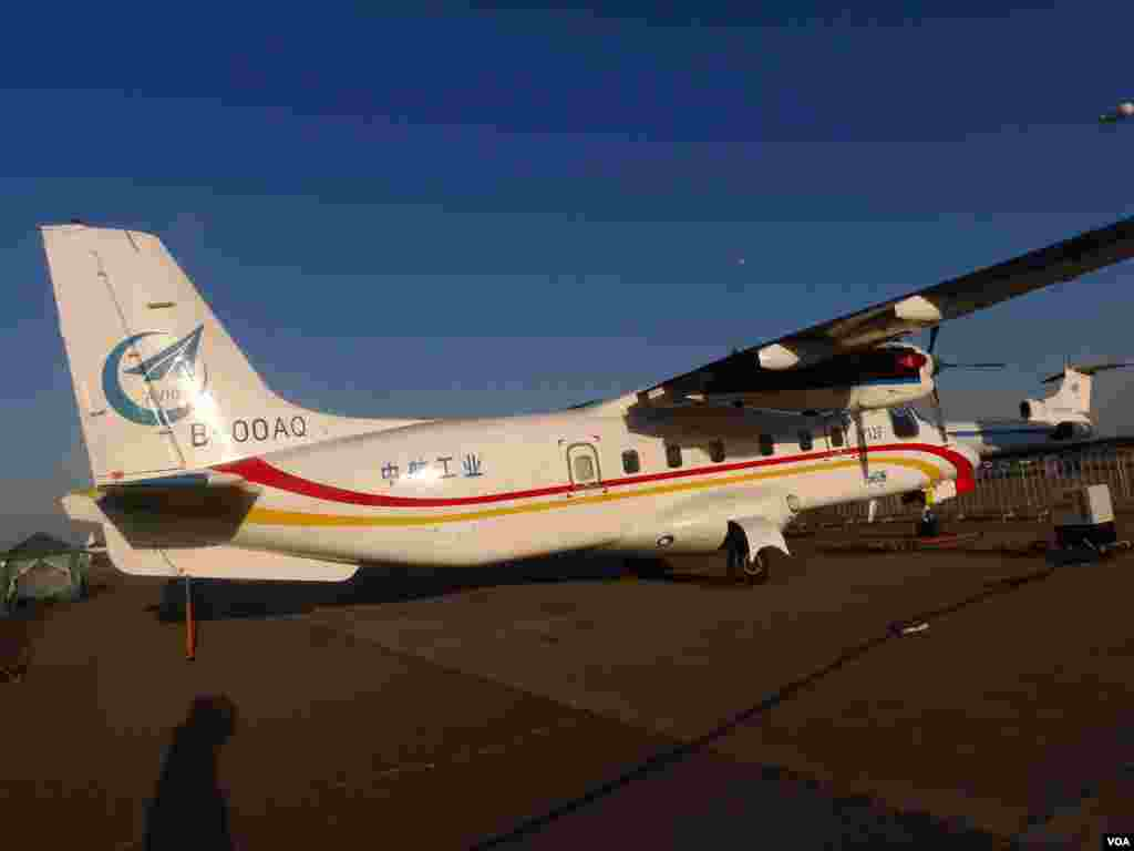 运12F客机。