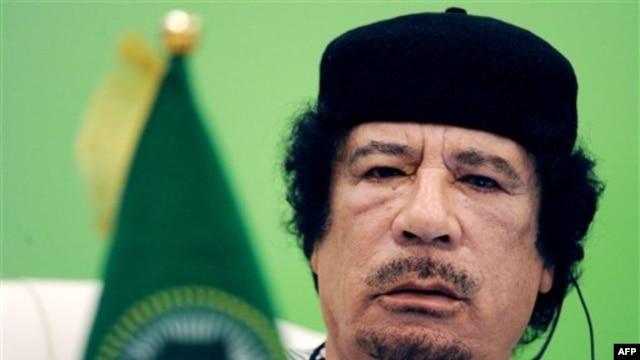 Lãnh đạo Libya Moammar al-Gadhafi