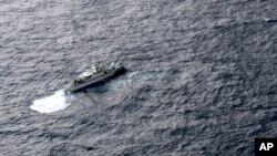 Корабель берегової охорони Японії під час пошукової операції, 6 грудня 2018 року