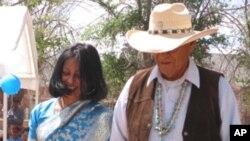 যুক্তরাষ্ট্রের আদিবাসী ইন্ডিয়ানদের অবস্থা নিয়ে একটি রিজারভেশনে কর্মরত সায়ীদা হায়দারের কথা