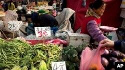 中國食品漲價(資料照片)