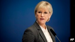 Arab Saudi mencegah Menlu Swedia Margot Wallstrom berbicara mengenai hak-hak perempuan, pada KTT pemimpin-pemimpin Arab di Kairo (foto: dok).