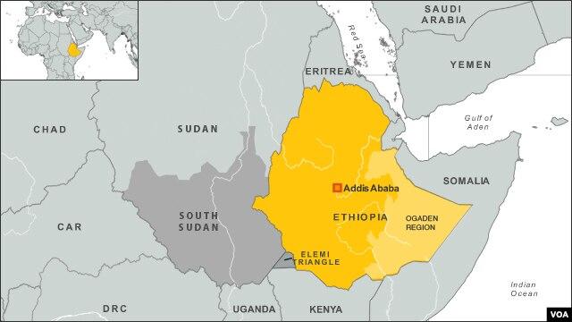 Ogaden region of Ethiopia