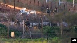 Izraelski vojnici na granici sa Libanom