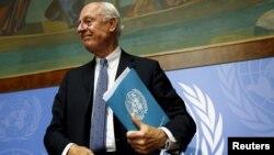 استفان دی میستورا، فرستاده سازمان ملل در امور سوریه