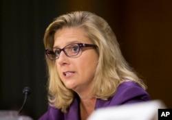 FILE - Defense Undersecretary Christine E. Wormuth testifies on Capitol Hill in Washington, Sept. 16, 2015.