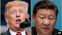 Ảnh Tư liệu: TT Mỹ Donald Trump và Chủ tịch Trung Quốc Tập Cận Bình