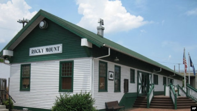 The Crooked Road generally begins in Rocky Mount, where a restored train station is the town's Chamber of Commerce and Visitors Center.