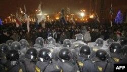 Післявиборчий протест у Мінську