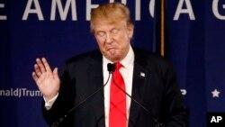 دونالد ترامپ داوطلب نامزدی در انتخابات ریاست جمهوری آینده آمریکا از حزب جمهوریخواه - آرشیو