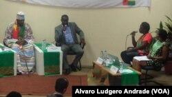 Presidential Debate in Guinea Bissau