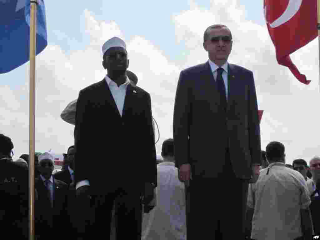 Başbakan Erdoğan Somali'de