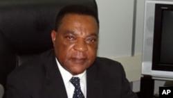 Balozi Augustine Mahiga waziri wa mambo ya nje wa Tanzania.