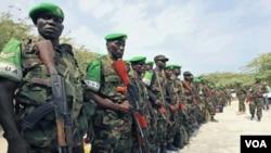 Uganda merupakan penyumbang terbesar pasukan penjaga perdamaian Uni Afrika di Somalia atau AMISOM (foto: dok).