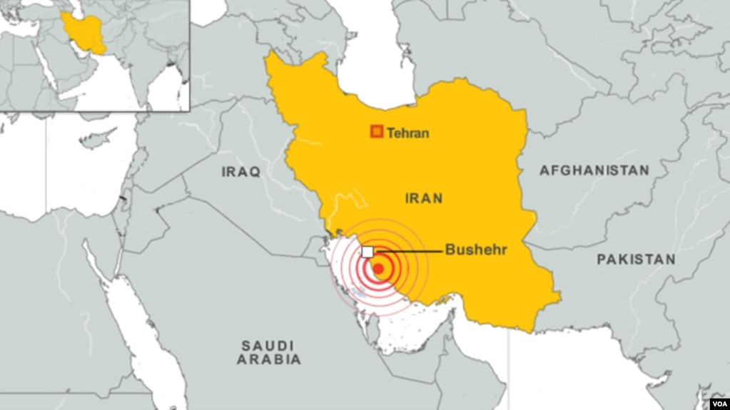 Powerful quake strikes near iranian nuclear plant a 63 magnitude earthquake struck iran near the bushehr nuclear power station the us geological gumiabroncs Image collections