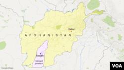 Bản đồ Marjah, Afghanistan