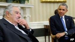 El presidente uruguayo, quien ayer visitó a Obama, estará este martes en el Departamento de Estado y en American University.
