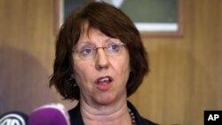 Kepala Kebijakan Luar Negeri Uni Eropa, Catherine Ashton, menjanjikan hubungan yang lebih erat dengan Asia Tengah (foto: dok).