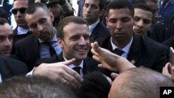 Emmanuel Macron, Alger, Algérie, le 6 décembre 2017.