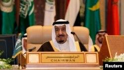 沙特阿拉伯國王薩勒曼(資料照)