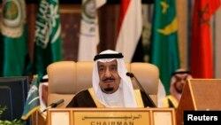 沙特阿拉伯国王萨勒曼(资料照片)