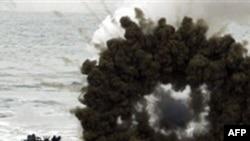 Các cuộc thực tập bằng đạn thật của Nam Triều Tiên diễn ra tại 27 nơi, trong đó có 15 địa điểm ở vùng Hoàng Hà