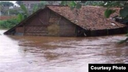 Banjir dan tanah longsor di Jawa Tengah.