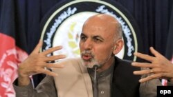 ډاکټر اشرف غني احمد زی د ولسمشرۍ دوېم مخکښ کاندید