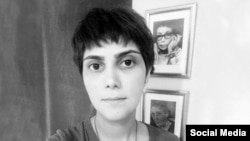 مرضیه امیری، روزنامهنگار و دانشجوی علوم اجتماعی دانشگاه تهران