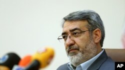 One of those sanctioned is the current Minister of Interior for Iran, Abdolreza Rahmani Fazli.