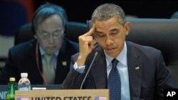 奧巴馬總統出席核安全峰會並發表演說
