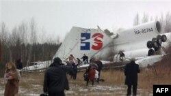 TU-154 təyyarəsinin qəzaya uğraması nəticəsində iki nəfər ölüb, 83 adam yaralanıb