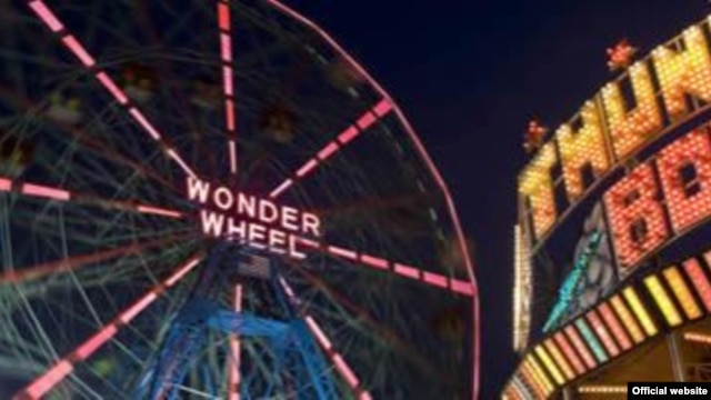 Deno's Wonder Wheel Amusement Park is a main attration at Coney Island.