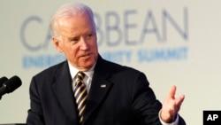 Le vice-président Joe Biden effectue cette semaine une tournée en Europe (AP)