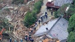 ۲۷ تن بر اثر توفان تالاس در ژاپن کشته شدند