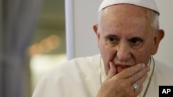 Le Pape François est en deuil (AP)