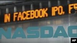 En Nasdaq se sigue con atención las operaciones por la OPA de Facebook.