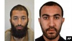 Khuram Shazad Butt y Rachid Redouane son los nombres de dos de los atacantes en el centro de Londres el sábado en la noche. El grupo extremista Estado Islámico reclamó la autoría del ataque.