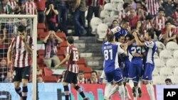 Pertempuran sengit yang terjadi antara Israel dan Hamas mengakibatkan pertandingan antara pertandingan antara Hapoel Kiryat Shmona dari Israel dan Athletic Bilbao dari Spanyol ditangguhkan (foto: dok).