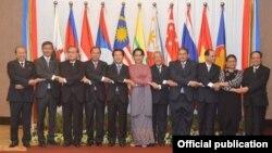 အာဆီယံႏိုင္ငံျခားေရးဝန္ႀကီးမ်ား အထူးအစည္းအေဝး သတင္းဓါတ္ပံု ( Ministry of Foreign Affairs Myanmar)