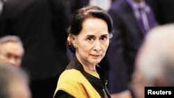 he Rohingya crisis overwhelmed Aung San Suu Kyi, once a global icon of the democratic struggle against Myanmar's military regime. Photo: Reuters