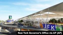 JFK Havalimanı da New York Valiliği tarafından restore edilmesi planlanan New York havaalanları arasında bulunuyor