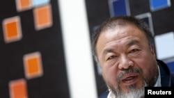 L'artiste chinois Ai Weiwei, 27 avril 2016.