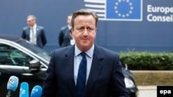 David Cameron, Bruxelles, le 28 juin 2016 (EPA/JULIEN WARNAND)