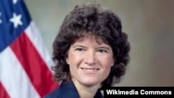 미국 최초의 여성 우주비행사 샐리 크리스틴 라이드.