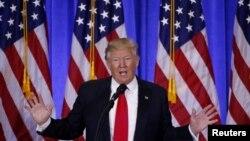 Tổng thống đắc cử Hoa Kỳ Donald Trump.