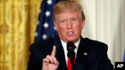 رئیس جمهور ترمپ گفت که عملکرد کوریای شمالی مایۀ شرمساری چین است