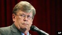 FILE - Former Deputy Director General of the International Atomic Energy Agency (IAEA) Olli Heinonen.