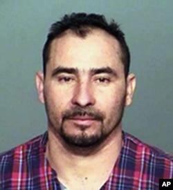 Manuel Orrego Savala, inmigrante guatemalteco sospechoso de causar la muerte por conducir ebrio del jugador de los Colts de Indianápolis Edwin Jackson. Foto proporcionada por la Policía Estatal de Indiana. Feb. 4 de 2018.