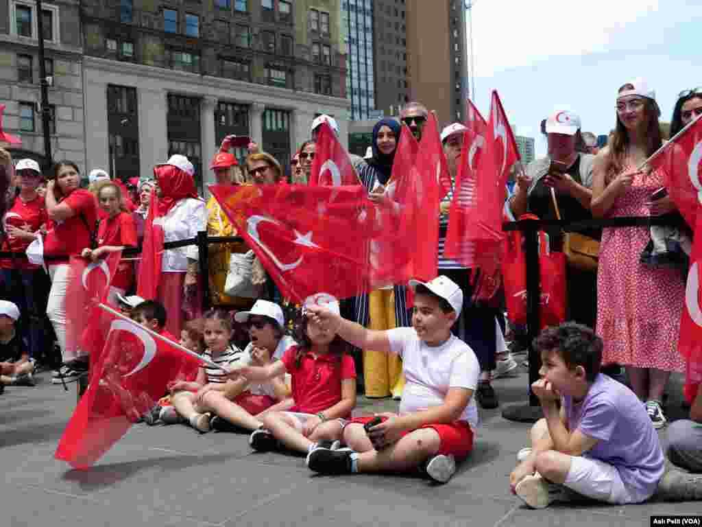 New York'ta ilk Türk gününe çocuklar da ilgi gösterdi